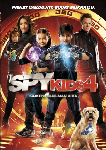 Spy Kids 4 - Kaiken maailman aika