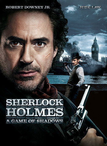 Sherlock Holmes: A Game of Shadows - HD