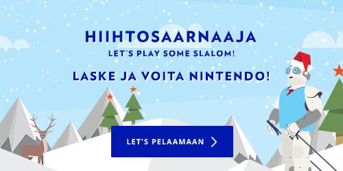 Osallistu jouluisaan Hintasaarnaaja-peliin ja voita huikeita palkintoja! Parhaimmille laskijoille jaossa mm. 2 kappaletta Nokia 6 DS huippupuhelimia ja Nintendo Switch Super Mario Odyssey Edition -pelikonsolipaketti.