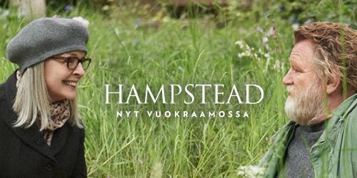 Tositarinaan perustuva Hampstead on hurmaava, hauska ja elämänmyönteinen tarina siitä, miten rakkaus voi löytyä aivan odottamattomasta paikasta, ja se todistaa jälleen kerran, että ikä ei ole este kaiken aloittamiselle alusta.