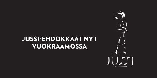 Löydät nyt Jussi-palkinnon ehdokaselokuvat vuokraamosta omasta kategoriastaan.