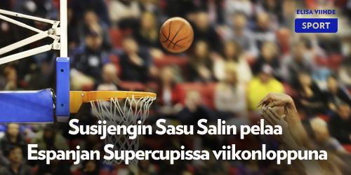 Espanjan koripallokausi alkaa 22.-23.9. pelattavalla Supercupilla. Sasu Salin ja Unicaja Malaga kohtaavat Valencia Basketin perjantaina 22.9. klo 20.20 Elisa Viihde Sport 1:llä. Klikkaa ja katso muut otteluaikataulut.