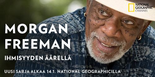 Morgan Freeman: Ihmisyyden äärellä pureutuu ihmisyyden peruskysymyksiin. Sarjassa Freeman tutustuu eri kulttuureihin ja selvittää kuinka paljon ihmiset lopulta eroavat toisistaan merkittävien ilmiöiden ja ominaisuuksien puitteissa.