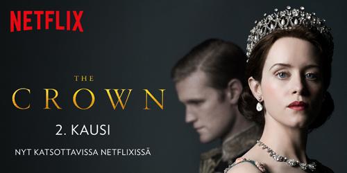 Uusi aikakausi alkaa The Crownin uuden tuotantokauden myötä. Kuningatar Elisabet yrittää pitää yllä monarkiaa ja avioliittoaan, vaikka maailma hänen ympärillään on jatkuvassa muutoksessa.