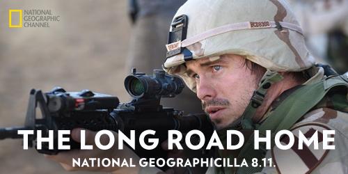 Suomalaisen Mikko Alanteen luoma ja käsikirjoittama draamasarja The Long Road Home nähdään 8. marraskuuta National Geographicilla. Kahdeksanosaisessa sarjassa seurataan Irakissa toteutetun pelastusoperaation tapahtumia.